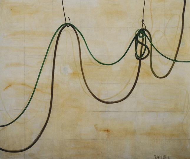 以及张恩利的《绿线》,另外,史金凇、杨茂源、苍鑫、蔡志松、艾未未等艺术家的作品同样在此展示