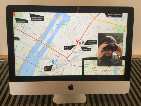吴珏辉作品《器官计划》 此为在纽约及香港创作的影像记录