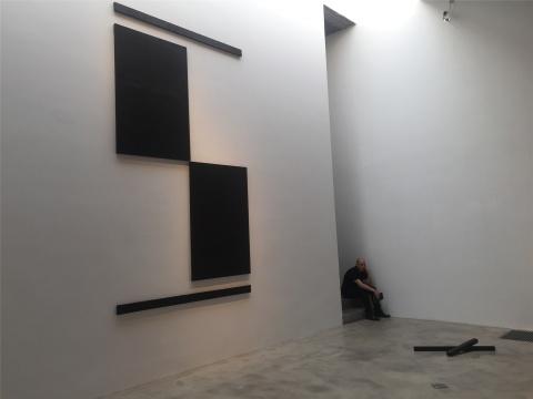Garcia Frankowski布上丙烯作品《墙上构图》