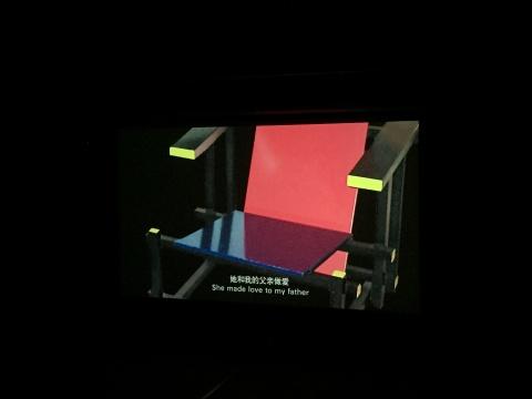 尉洪磊 《生活》 5分10秒 单屏录像 2013