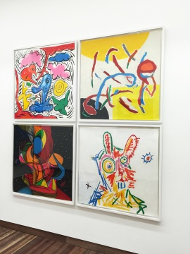 E厅 富丽的华盖   《》91.5×91.5cm/幅 纸本绘画2015