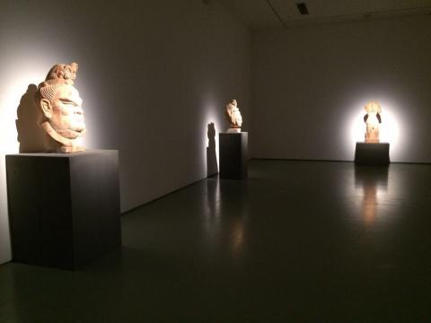 东西方经典雕塑在戴耘的复制下集中在美术馆呈现