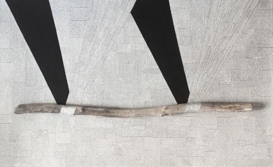 【最佳观念奖】郭东来 《有始无终的时间》 装置:综合材料 100×60×5cm 意大利博洛尼亚美术学院 2015