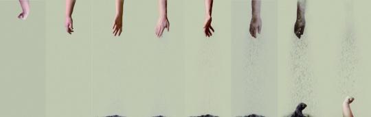 【最佳制作奖】刘佳弘 《可降解2——轮回》 录像:4'07'' 鲁迅美术学院 2015