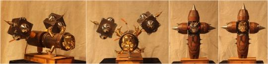【优秀奖】刘丹阳&张琼 《儿时的梦》 装置 80×40×45cm×2 中国美术学院 2015