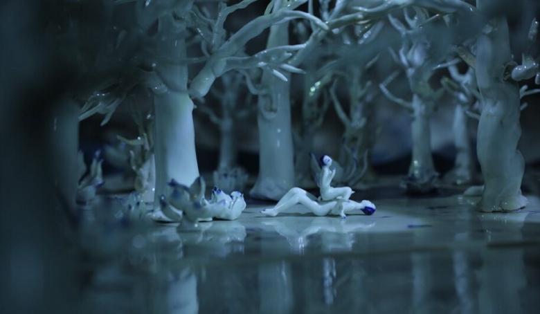 耿雪2014年影像作品《海公子》