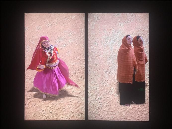 伊拉克艺术家阿萨德.娜娜凯里2015年视频装置作品《阿瓦兹电台》
