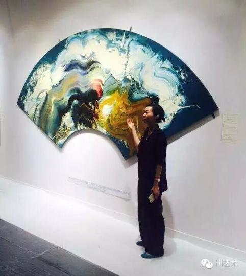 本季香港佳士得重点推荐拍品 白发一雄 《庆长十九年(大阪冬之阵)》173.5×366cm 布面油画 1968 估价:1000-1800万港元