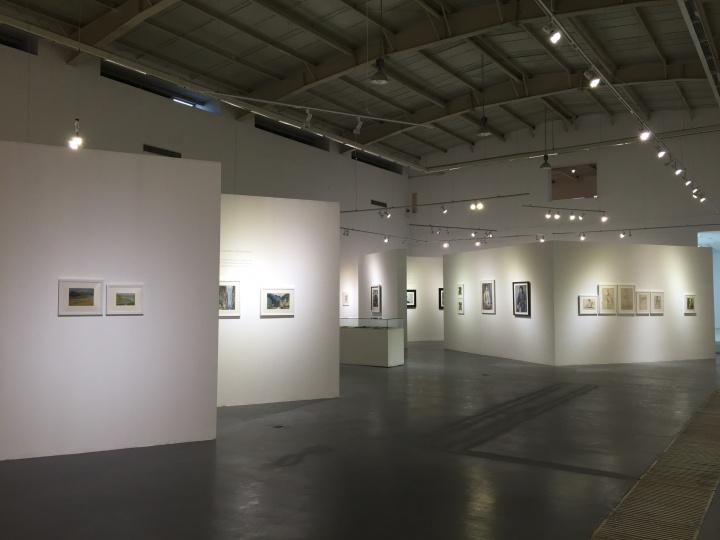 高名潞林大艺术中心展览现场