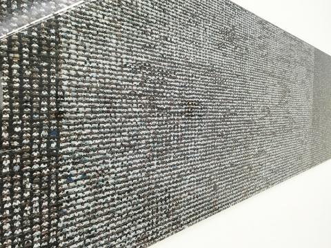 王国锋 《朝鲜 2013 No.4》 300 × 68cm  数字微喷  2013