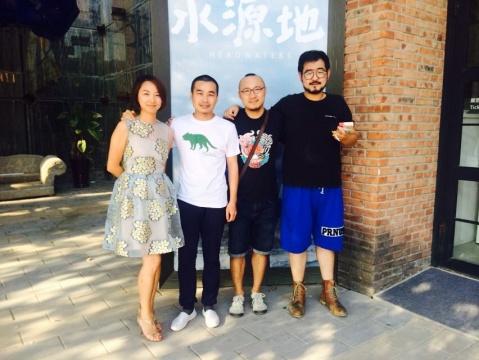 左起:杨洋、厉槟源、宗宁、张玥