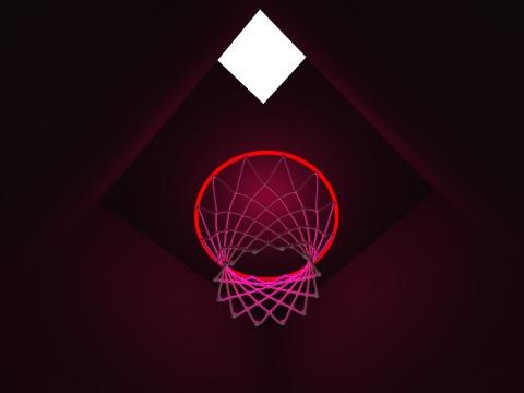 周文斗 虚拟作品《篮球筐》
