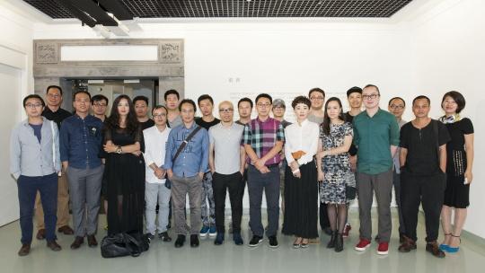 本次出席正观美术馆的艺术家及嘉宾集体合影