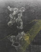栗子《普罗米修斯》200cm×150cm 布面综合材料 2015
