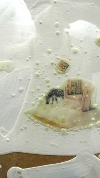 赵露《覆膜世界-枕中记No.5》45cm×60cm 综合材料 2010