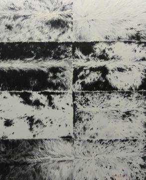 杨帆《文理5》100cm×80cm 布面油画 2014