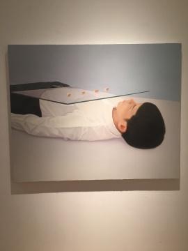 梁浩 《关于一种描述,它从来没被清晰的说完》 120×150cm 布面油画 2015