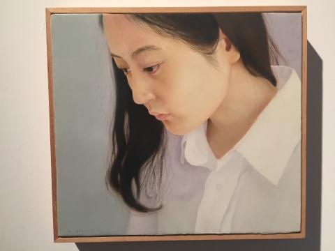 梁浩 《无题》 26×30cm 布面油画 2013
