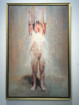 尹朝阳《激》系列 230×150cm 布面油画