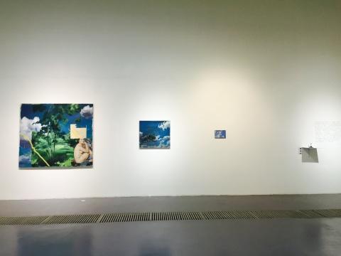 王茂2015年新作《蓝天白云》系列
