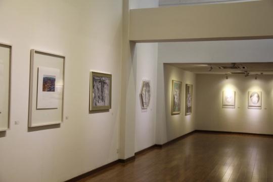 """""""倒叙的美术史:中国当代艺术的另一种线索""""展览现场"""