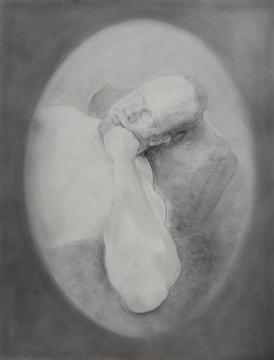 毛焰《托马斯·素描1号》61×46cm纸上素描 2015