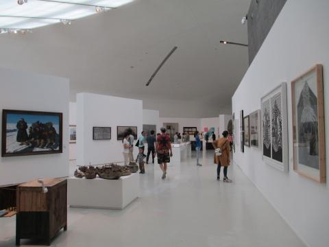 """美术馆3层""""学院本色2015——美院在校生创作展"""""""
