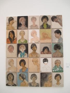 中央美术学院王宏州《丛》228×183cm 纸本水墨 艺术传承奖