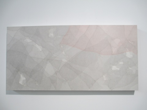 桑火尧 《溪山清远系列2015-NO.2》 68×138cm 绢本水墨设色 2015