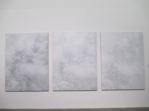叶剑青《月影1-3》200×150cm×3 布面油画 2015