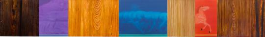 《节度使》 90×715cm 绢本、木板雕刻 2015