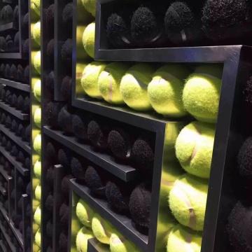 店面网球装饰