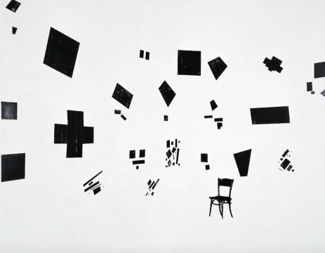 空间黑白设计构成