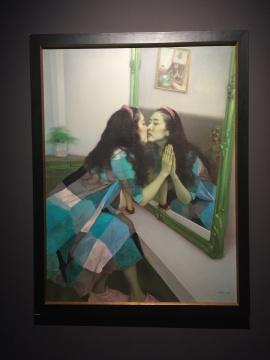 《镜花缘之二》 160×120cm 布面油画 2013