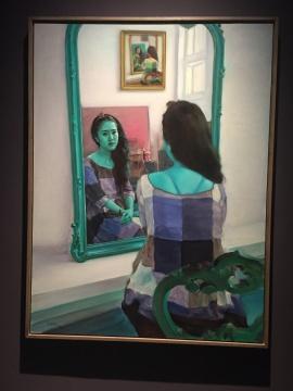 《镜花缘之五》 160×120cm 布面油画 2014