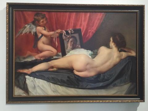 《早安委拉斯贵兹》 120×160cm 布面油画 2015