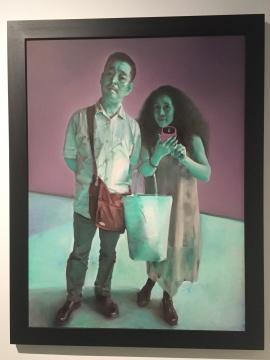 《试衣间》 160×120cm 布面油画 2015