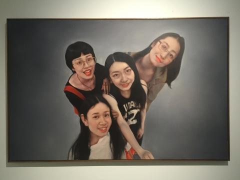《欢颜NO.1》 180×280cm 布面油画 2015