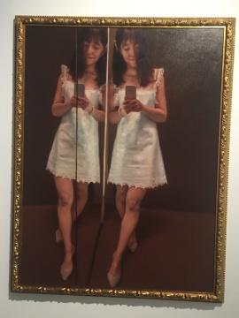 《暗香》 160×120cm 布面油画 2015