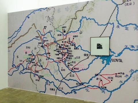晋察冀是中共抗日战争时期于敌后开创的第一个抗日根据地,策展团队为了此次展览的史料考察走了一遍红军的路线