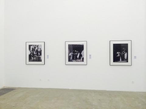 沙飞、吴印咸、罗光达拍摄的三张白求恩的照片作为此次展览的出发点