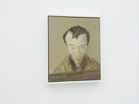 毛焰《我的诗人》61×50cm 布面油画 1997