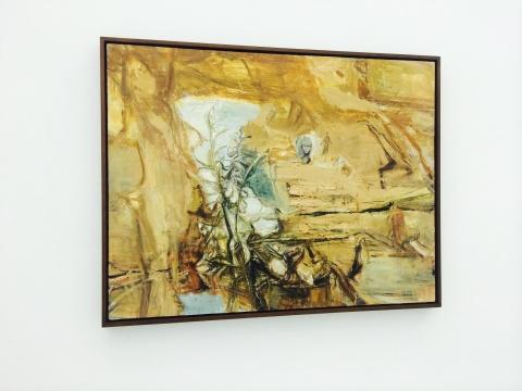 屠宏涛 《草世界》100×130cm 布面油画 2012-2013