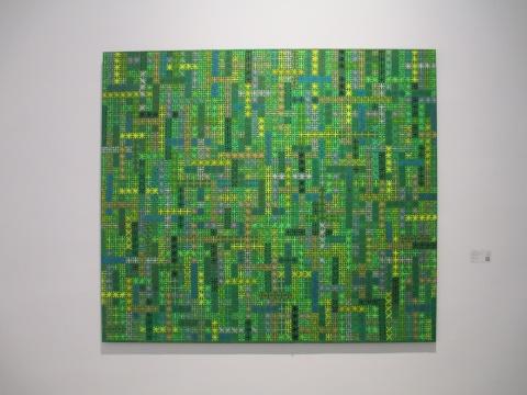 丁乙 《十示2002-12》 140×160cm 布面丙烯 2002