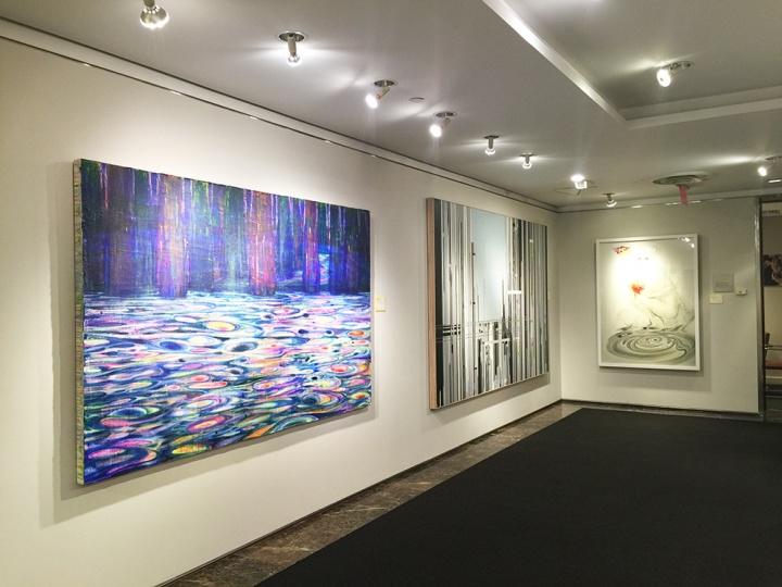 首次亮相纽约洛克菲勒中心的中国艺术家作品