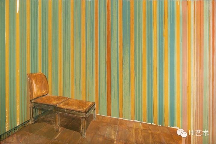 陈彧君 《亚洲地境-6平方米No.20091218》 200 x 300cm 布面丙烯 2009