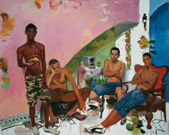 《阿曼多和他的朋友》 200x250cm 布面油画 2009