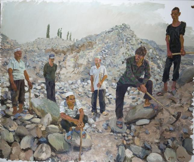 《东》300x250cm 布面油画 2012
