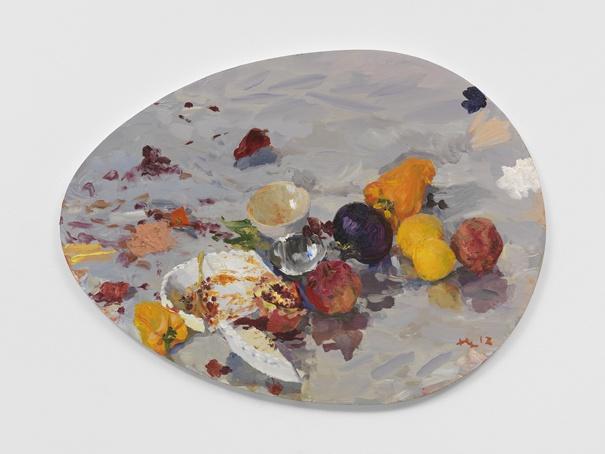 《茄子》 110.5x80cm 布面油画 2012