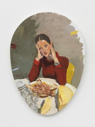 《战神》 110.5x80cm 布面油画 2012